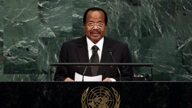 Ordered an investigation: Cameroon President Paul Biya.