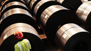 Bluescope flagged difficulties shipping steel.