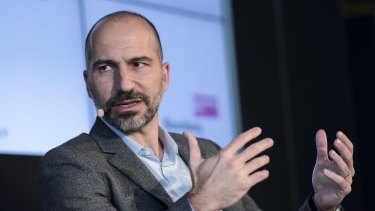 Dara Khosrowshahi, chief executive officer of Uber.