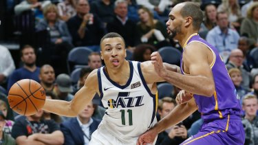 Dante Exum has had limited opportunities this season with the Jazz.