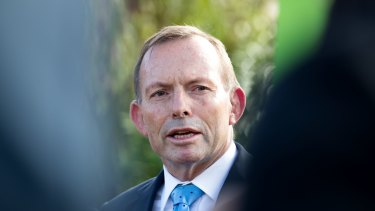 "Former prime minister Tony Abbott said his predecessor Bob Hawke had ""a Labor heart but a Liberal head""."