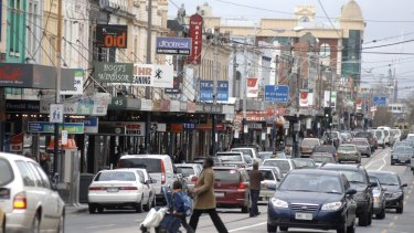 Chapel Street is the commercial heart of Prahran, Victoria's most marginal electorate.