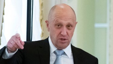Allegedly tied to the Wagner group: Yevgeny Prigozhin.