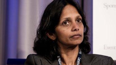 CEO designate Shemara Wikramanayake.