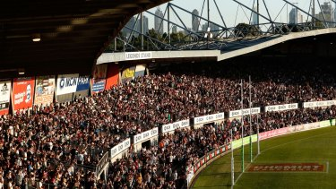 Since the first AFLW game, which saw 24,500 in attendance, growth in women's footy has surged.