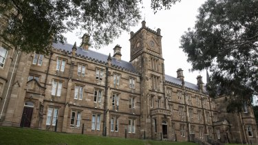 Allegations of drunken behaviour and hazing: St Andrew's College at the University of Sydney.