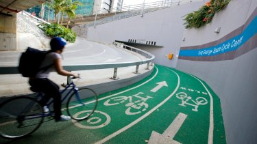 Brisbane's cycleways have seen a significant spike in patronage during the coronavirus pandemic.