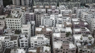 A flurry of new residential apartment buildings in the Futian district of Shenzhen, China, were part of a city-by-city campaign to rein in house prices and limit the risk of bubbles.