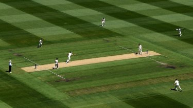 The MCG pitch was lifeless in the Ashes Test there in 2017 and received a poor rating.