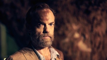 Hugo Weaving's talent took him to the stage early on.