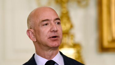 "Amazon claims that Trump used ""improper pressure"" on the Pentagon to prevent the tech giant from winning the a $US10b contract as part of an attempt to harm the company's chief executive, Jeff Bezos."