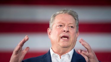 Former Vice President Al Gore flew to Sydney for a secret dinner this week.