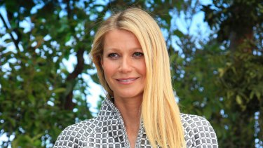 Gwyneth Paltrow, founder of the Goop website.