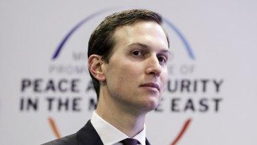 President Donald Trump's son-in-law and senior adviser, Jared Kushner.