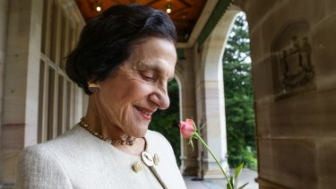 NSW's former governor Dame Marie Bashir was much loved and she was not a soldier.