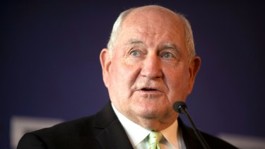 US Secretary of Agriculture Sonny Perdue wants to open up European agricultural markets to chemically washed chickens, meat with growth hormones and genetically modifed crops from the US.