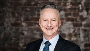 Nine Entertainment Co chief executive Hugh Marks.