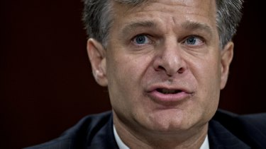 Christopher Wray, director of the Federal Bureau of Investigation.