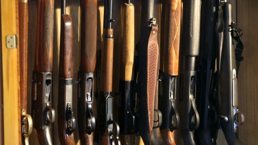 The Morrison government wants to streamline firearms processing in Australia.
