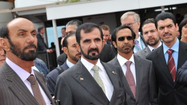 Hard-won victory: After 30 years, Sheikh Mohammed's stable has claimed its grand prize.