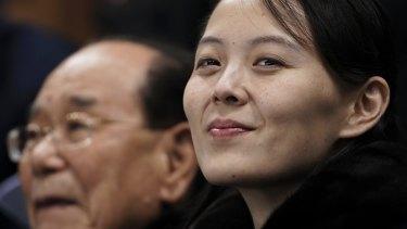 Kim Yo-jong, the sister of Kim Jong-un, is lying low.