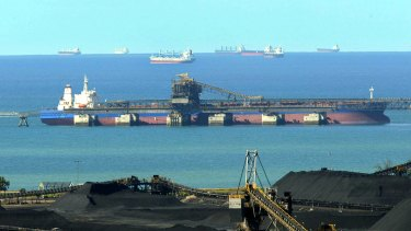 Australian miners are looking to ports other than China for their coal, as the country continues its slowdown on Australian imports.