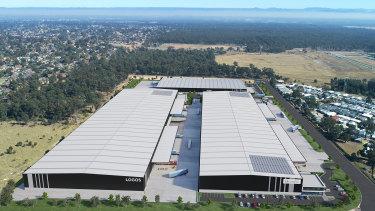 LOGOS Property is developing a 13,000sq m Logistics Facility for LF Logistics at its Marsden Park Logistics Estate, Sydney.