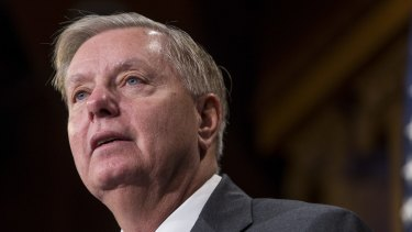 Senator Lindsey Graham received the test, while many other Americans in need don't receive it.