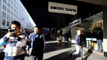 All Roger David stores will close before Christmas.