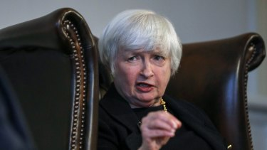 It's payback time for Janet Yellen, who was denied a second time as Fed chair after Donald Trump reportedly thought she was too short.