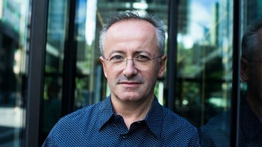 Andrew Denton said the death of his father was a profoundly shocking experience for him.