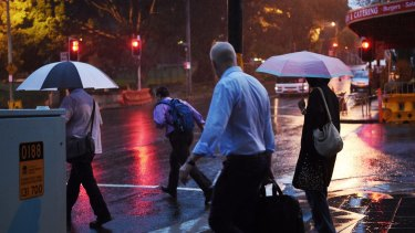 The wet weather is expected to hit Perth on Wednesday afternoon