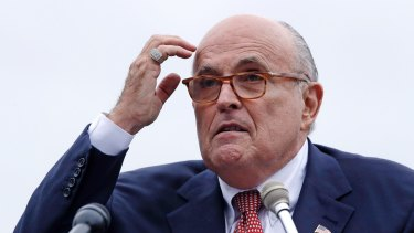 "Trump's attorney Rudy Giuliani called the claims ""made-up lies""."