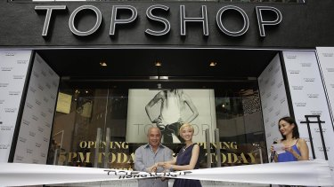Sir Philip Green is the owner of Topshop  and other high street brands.