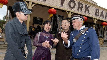 Sovereign Hill, one of Victoria's biggest drawcards for Chinese tourists, has noticed a significant drop in visitor numbers.