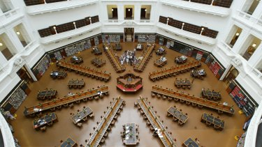Renovations to the Domed Reading Room commenced in 1999 as part of the Library's major redevelopment program. It was reopened in July 2003.
