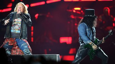 Gun N'Roses' Not In This Lifetime tour at the MCG in 2017.