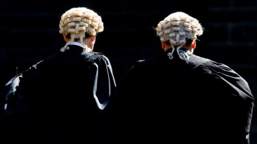 The accused's barrister withdrew from the case over coronavirus concerns.