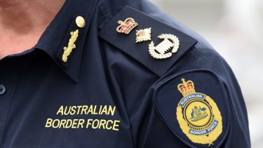 The Australian Border Force did a full luggage search where they seized a man's phone and laptop after finding child exploitation material.