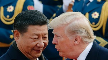 The US-China trade stoush continues to worry investors.