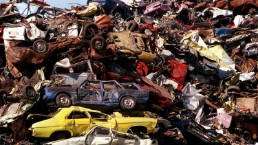 Scrap metal recycler Sims will build plants capable of converting automotive shredder residue into gas.