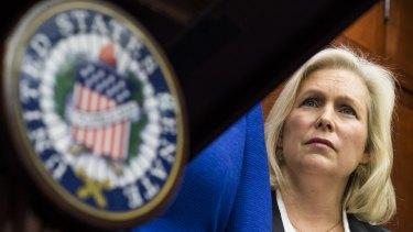 Democratic Senator Kirsten Gillibrand has been outspoken against sexual harassment.