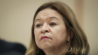 The details of Michelle Guthrie's settlement with the ABC have been kept confidential.