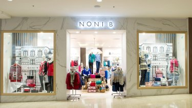 Noni B owner Mosaic Brands has been shut out by Westfield owner.