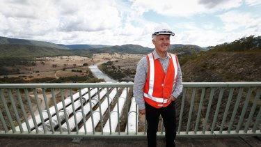 Prime Minister Malcolm Turnbull announced Snowy Hydro 2.0 in 2017.