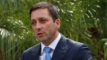 "Matthew Guy says a Coalition Government would create ""the biggest connected super-highway in Australia and get Victoria moving again."