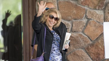 Shari Redstone is the chairman of the new company.