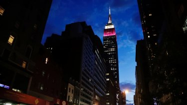 The value of the company that owns the iconic Empire State Building has fallen by around 50 per cent since the start of the year.