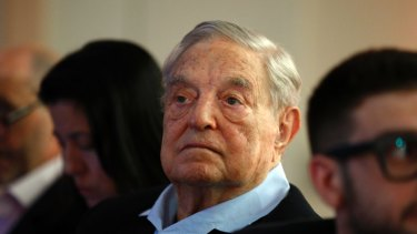 Billionaire Hungarian-American philanthropist George Soros founded the Central European University, which has been the target of a right-wing government.