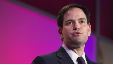 Republican Senator Marco Rubio was among those who hit out at China for threatening Australia.